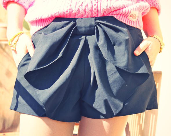 -short pepe jeans bow noeud_effected