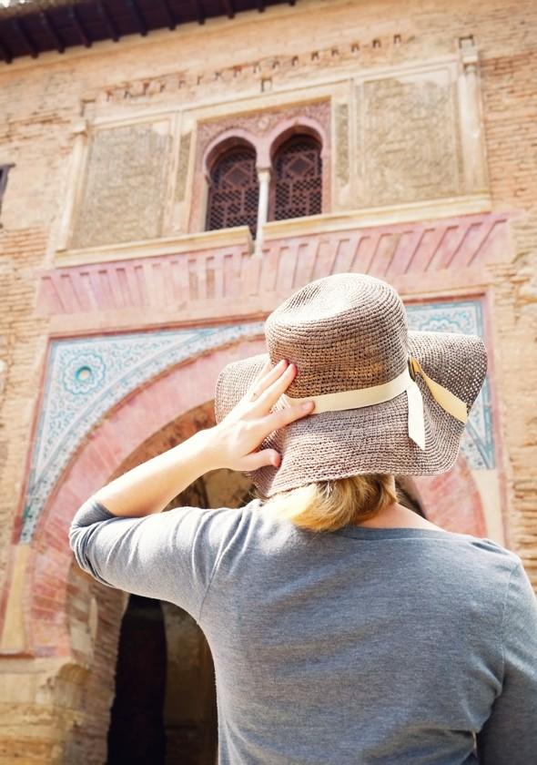 _alhambra granada chapeau andalousie Zoe Karssen