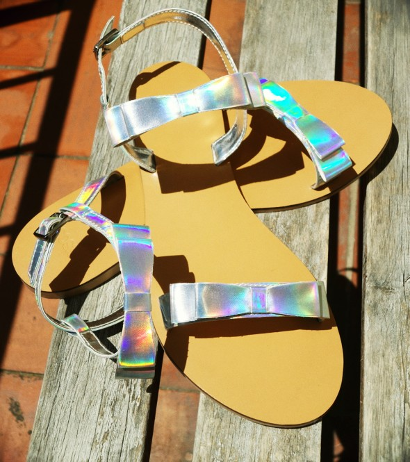 sandales noeuds