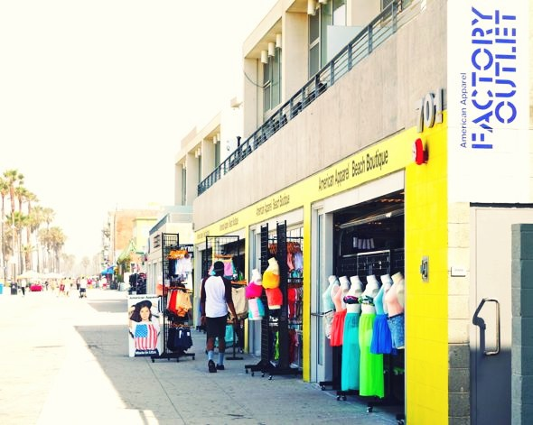 american apparel soldes aux USA