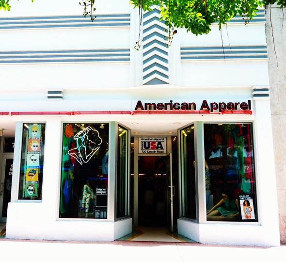 boutique american apparel