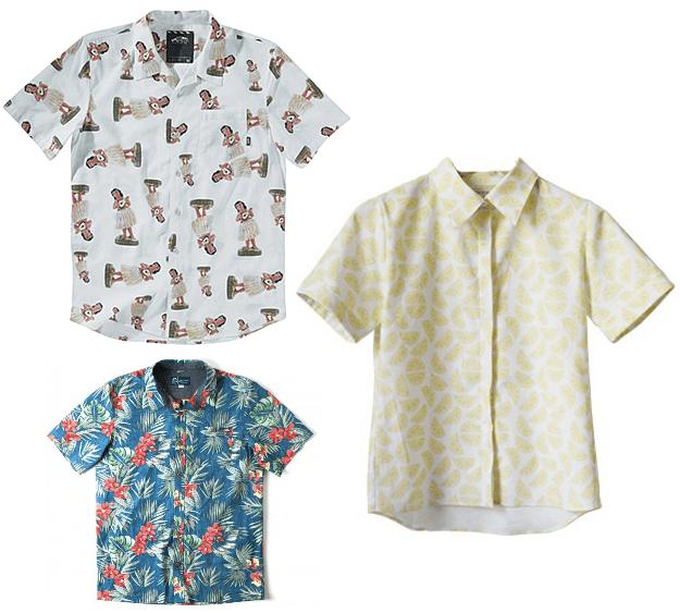 chemises hawaiennes