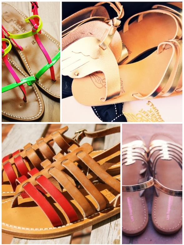 spartiates gladiator k jacques k.jacques saint tropez belarbi tropeziennes doré camel rouge naturel fluo neon ancient greek sandals doré gold or oro wings shoes sandals