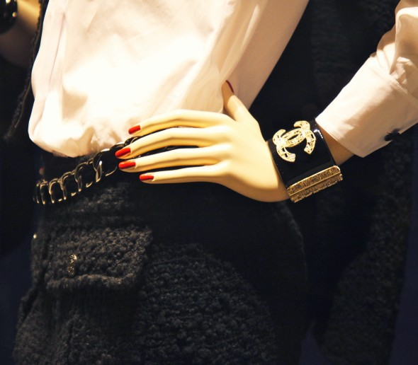 bracelet manchette Chanel