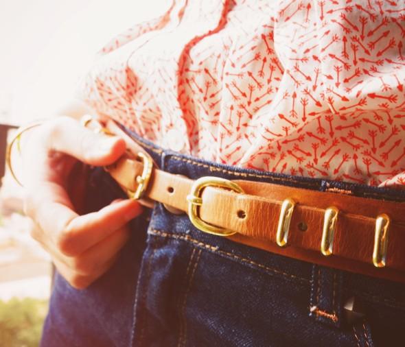 Levis blouse arrows massimo dutti duti belt ceinture cinturon short jean denim shorts naf naf repetto or doré cendrillon bb ballerines_effected