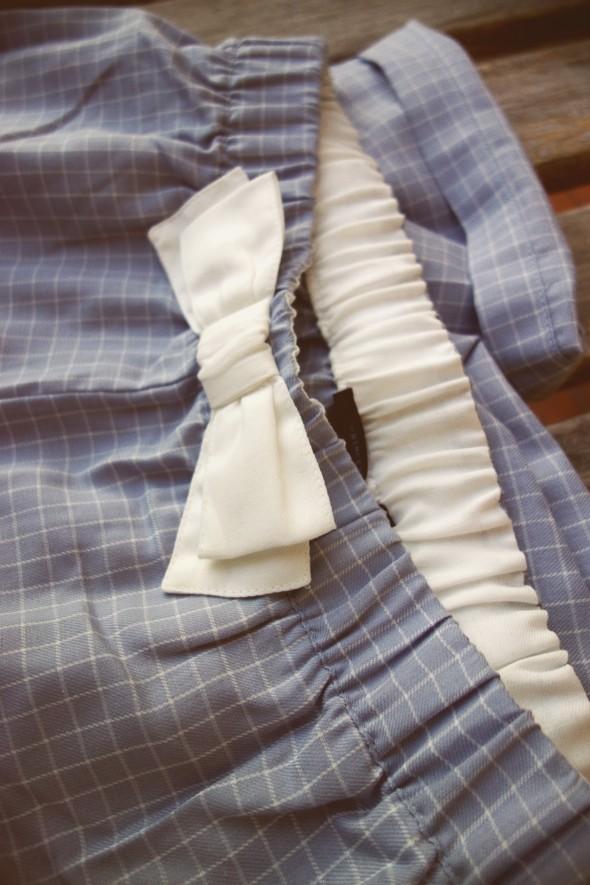 pantalon pyjama noeud