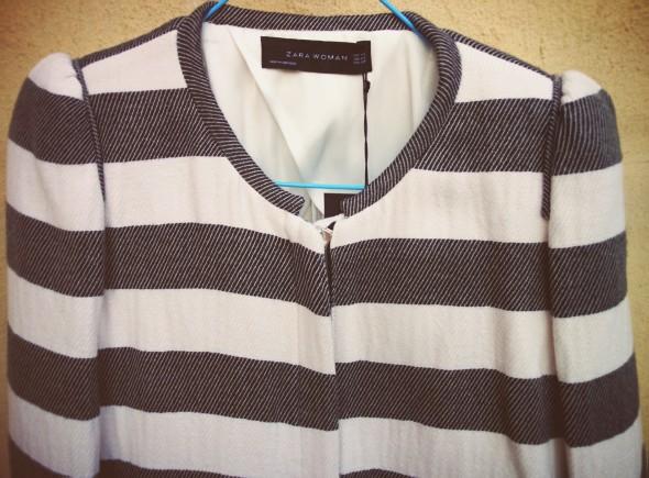 -veste vest chaqueta zara women woman stripes rayures rayas 2013_effected