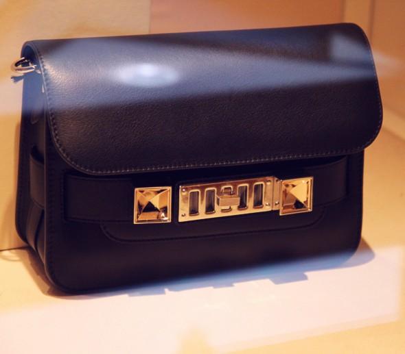 Bag sac black noir Proenza Schouler ps11