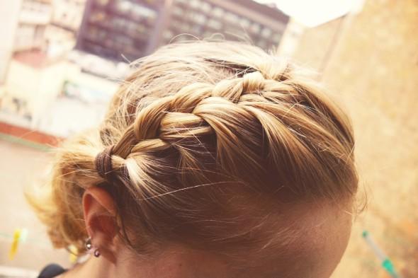 cheveux plaques tresses