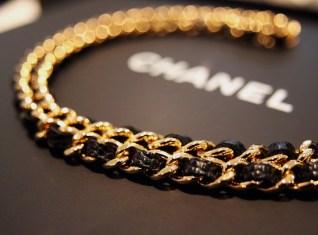 Gold chanel bag chain
