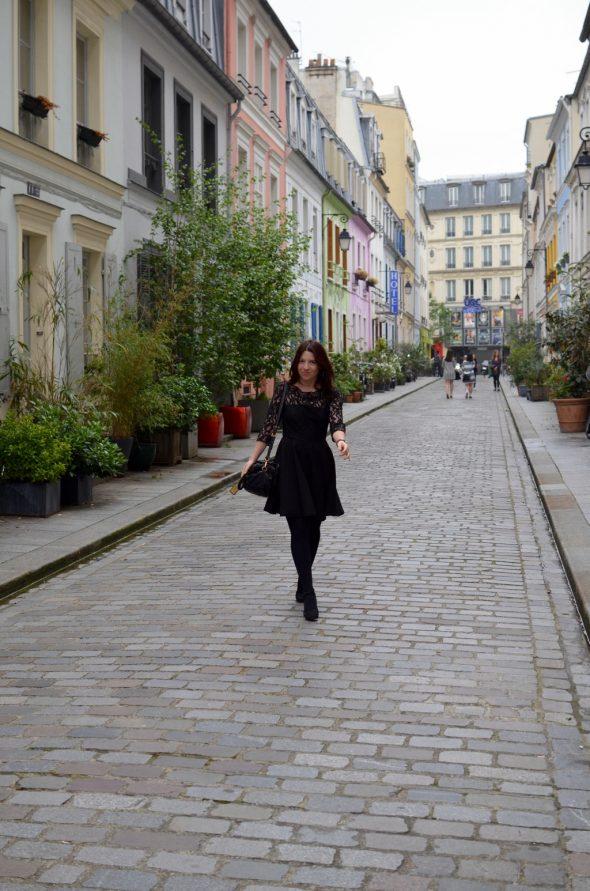 Cremieux Petite robe noire retour en arriere