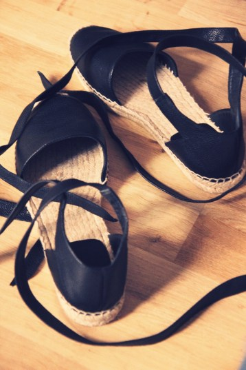 espadrilles lacets yves saint laurent