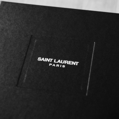 Saint Laurent shoe box