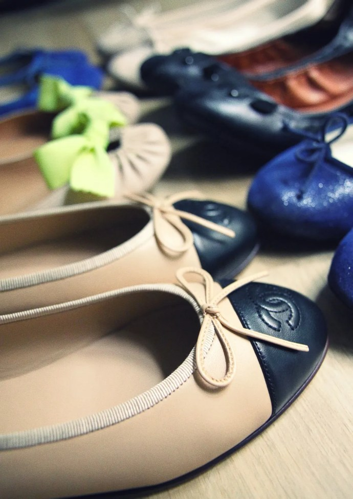 Ballerines Chanel, Repetto, Marc by Marc Jacobs, Maloles...