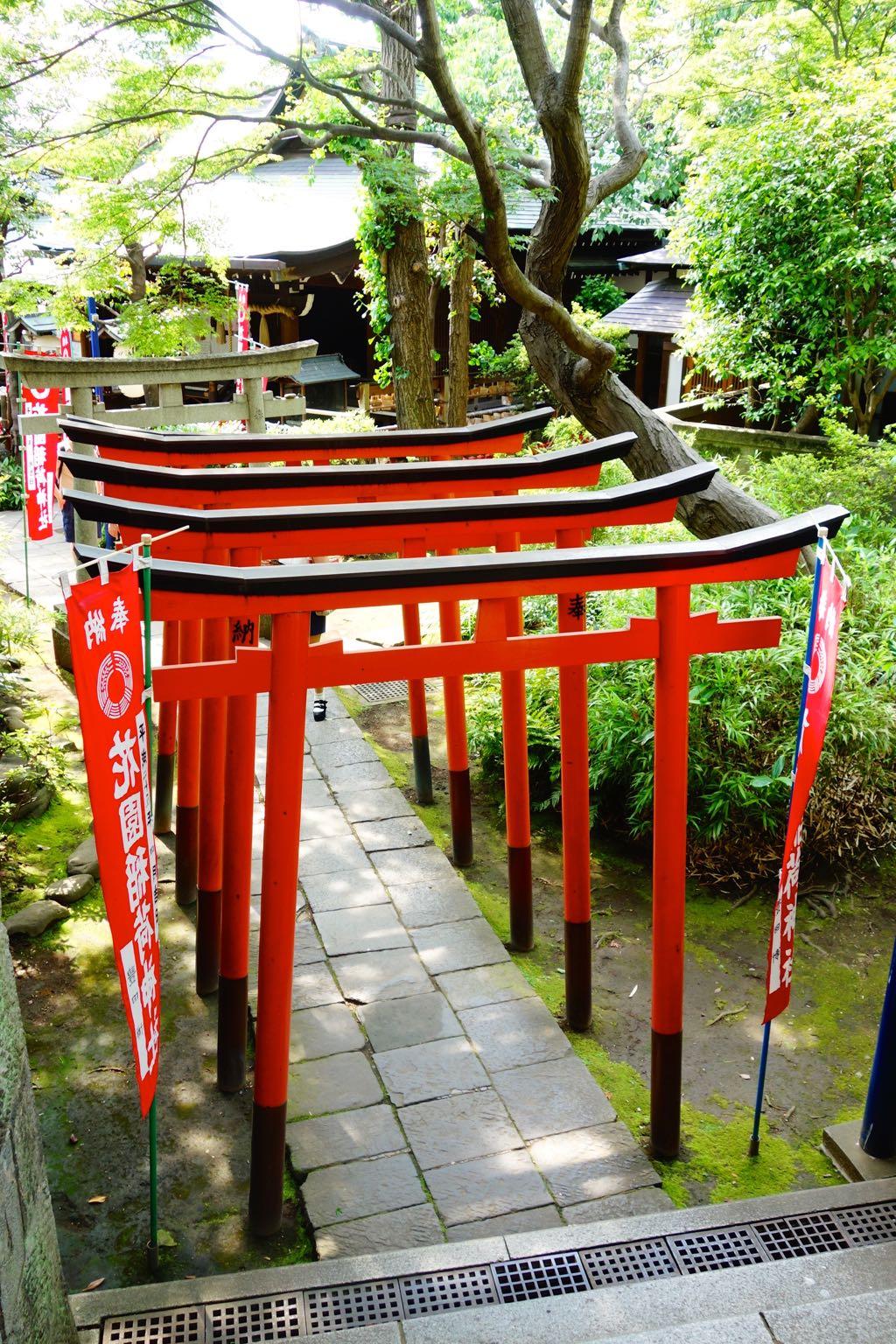 portes rouges japonaises