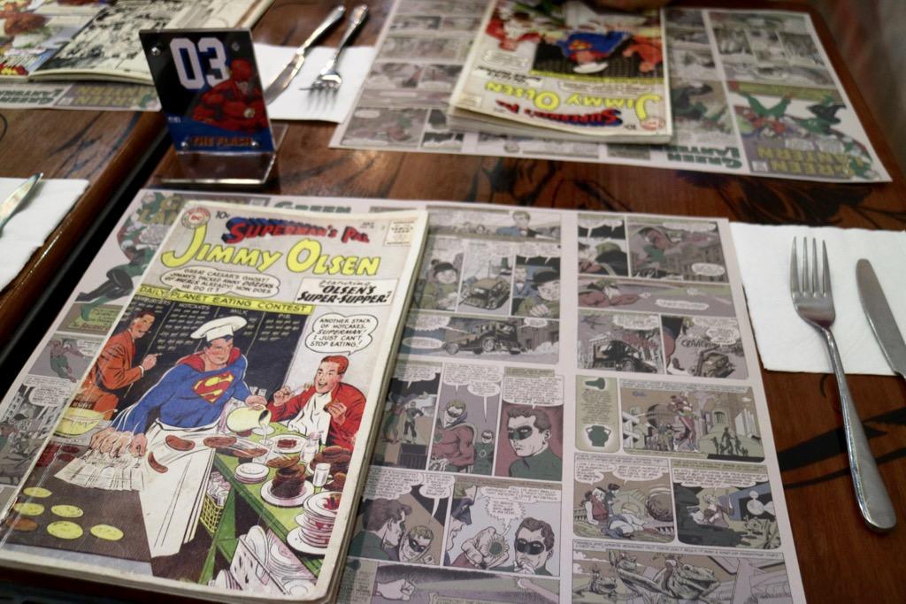 DC Comics Super Heroes Cafe Kuala Lumpur