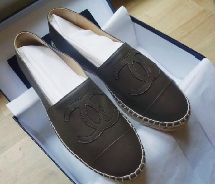 Espadrille Chanel kaki