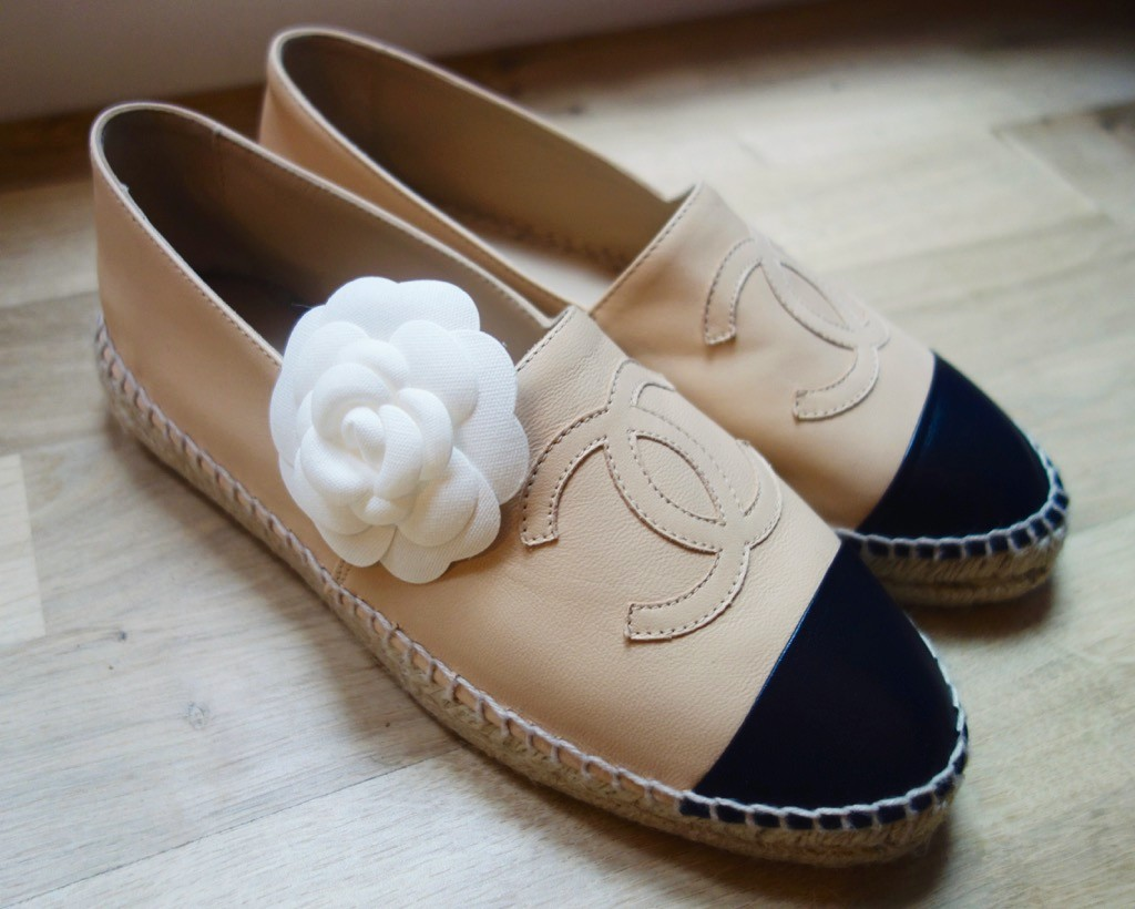 cf892f2dcc4a CHANEL Espadrilles   My Honest (  Expensive) Review ! - Bowsome blog