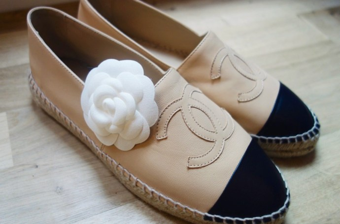 Espadrilles Chanel en cuir