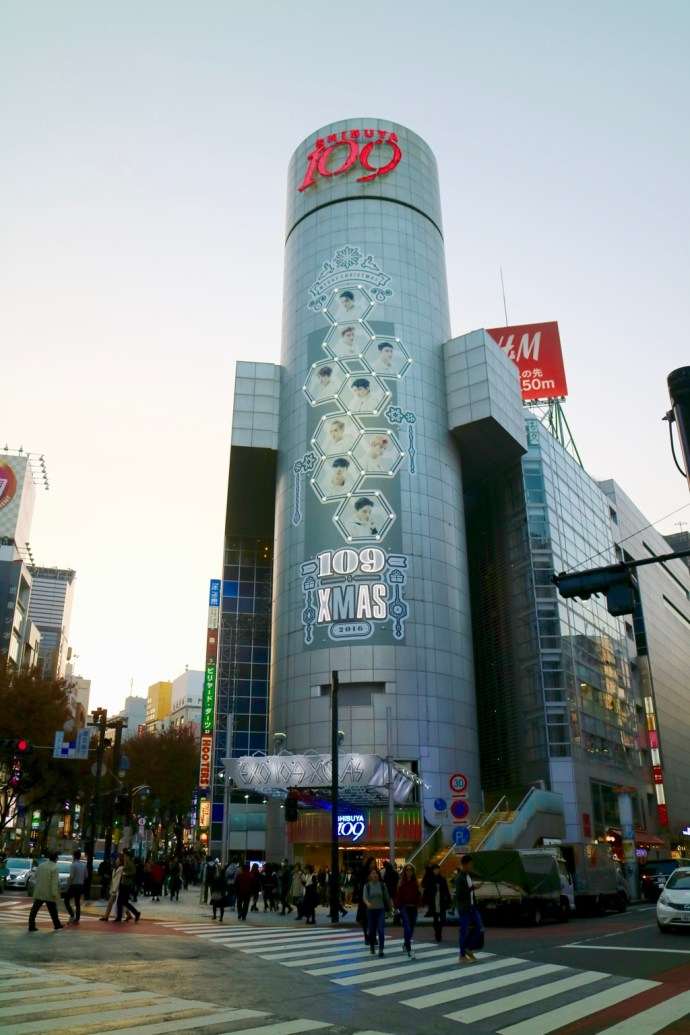 Shibuya 109 Shopping mall