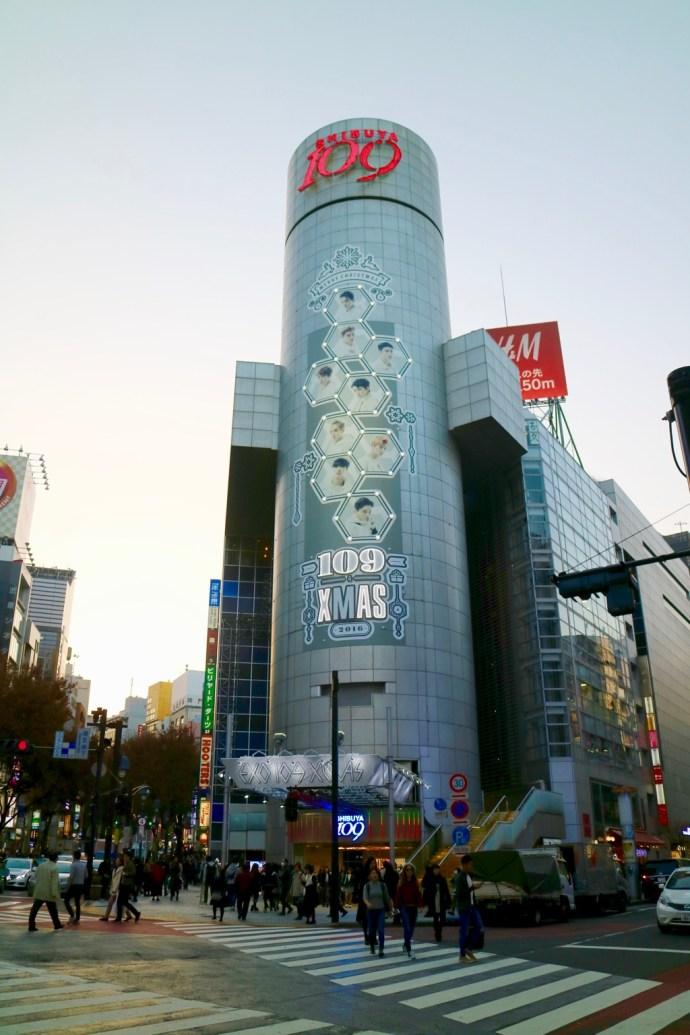 Shibuya 109 Shopping mall