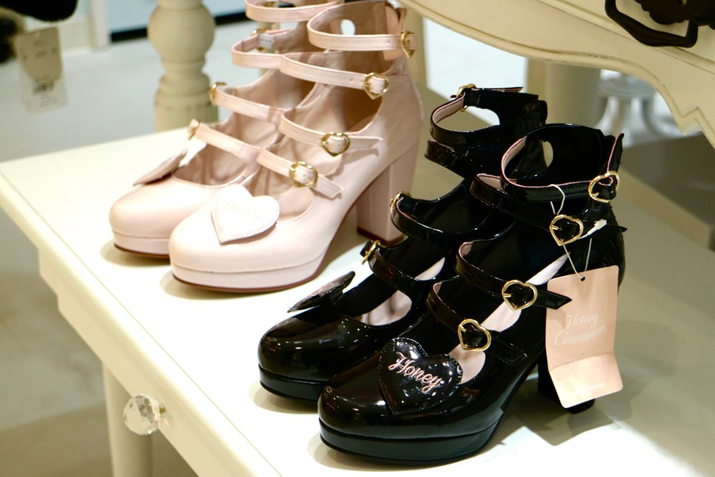 Shibuya 109 Shopping chaussures
