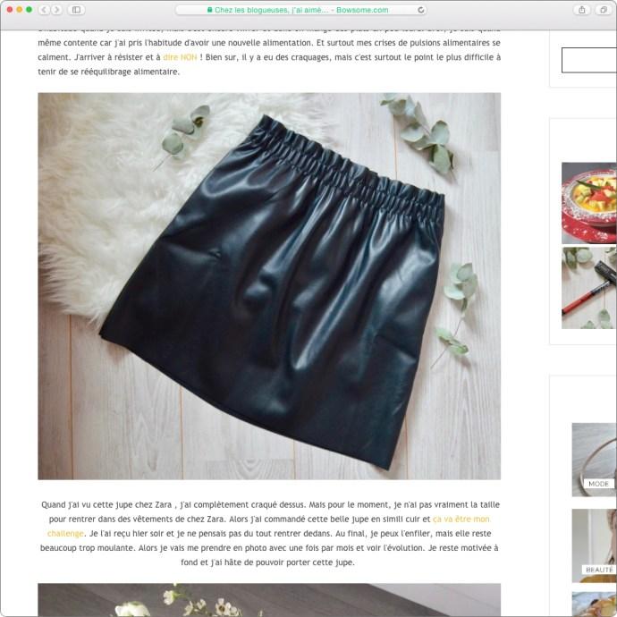 blog mode jupe simili cuir leblogdauryculaire