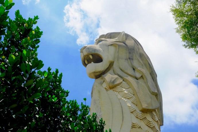 merlion singapour sentosa