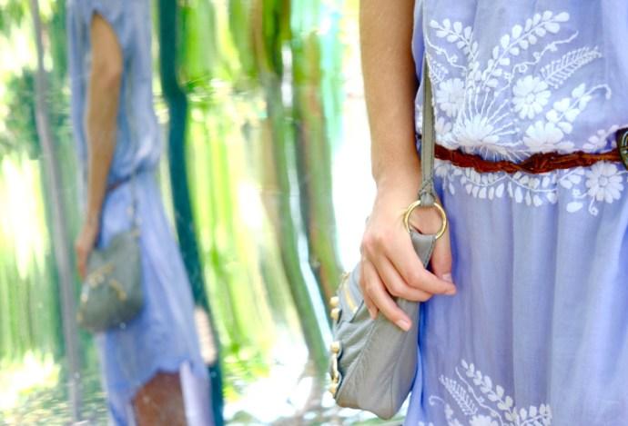 robe fleurs singapour