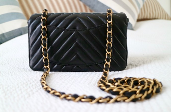 Poche arriere Sac Chanel Mini