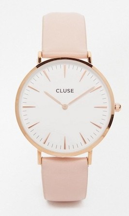 montre or rose