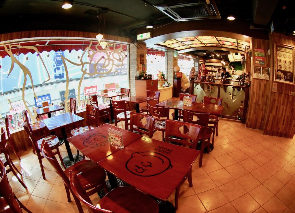 Snoopy cafe Hong Kong