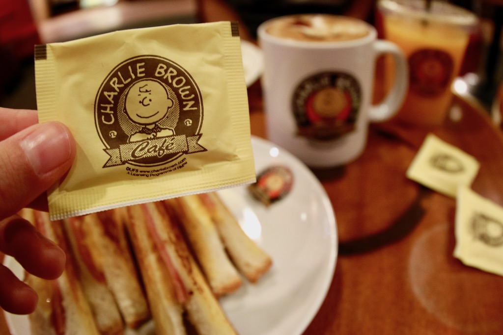 Charlie Brown Cafe Menu