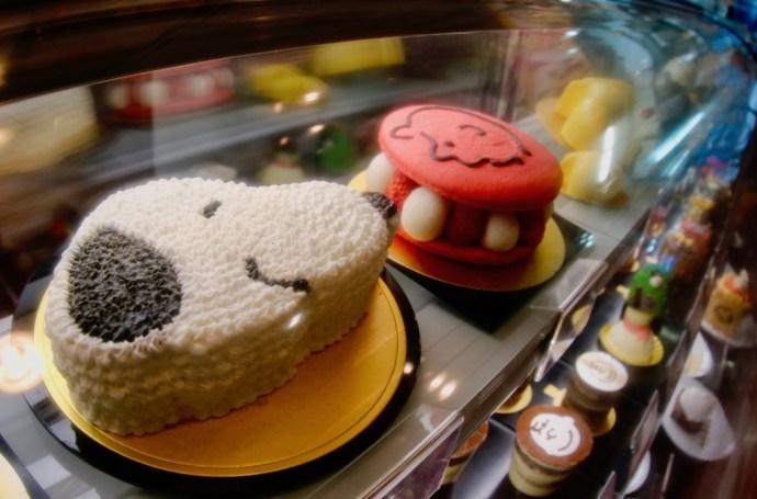 Snoopy cake gateau