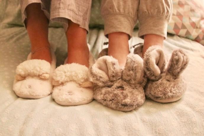 chaussures pour dormir