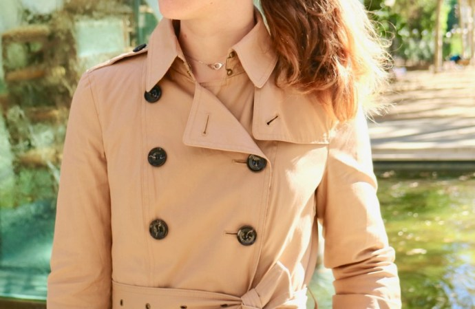 trench burberry beige