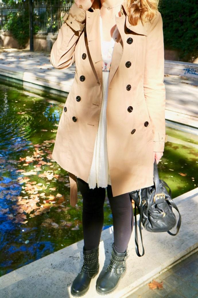 style anglais british trench coat