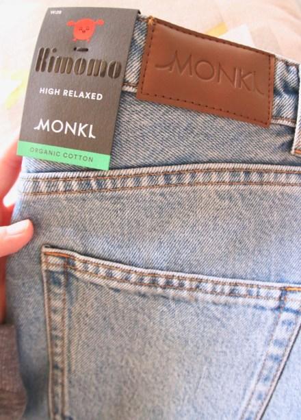 coton organique jean monki