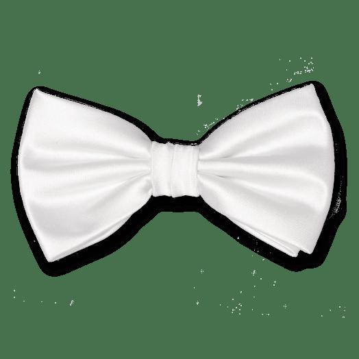 White bow ties