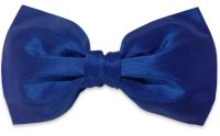 Blue Silk Bow tie  BowTieTrends.com