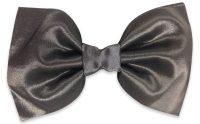 Grey Silk Bow Tie  BowTieTrends.com