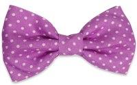 Pink Dots Bow Tie  BowTieTrends.com