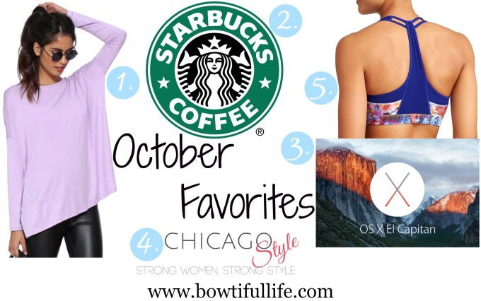 October Favorite '15