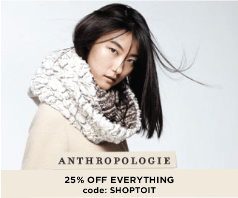 Bowtiful Life Black Friday ANthropologie