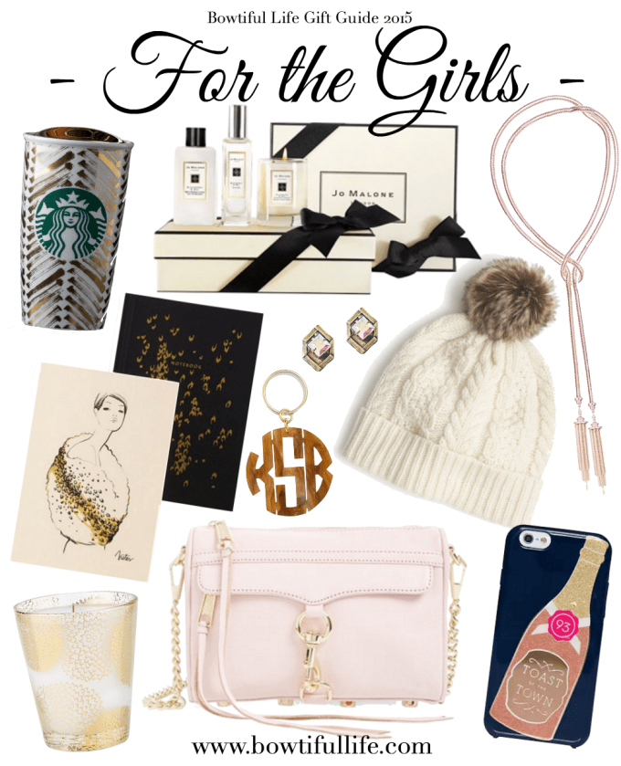 Bowtiful Life Gift Guide 2015 - For the Girls
