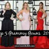 Top 5 Grammy Gowns 2016