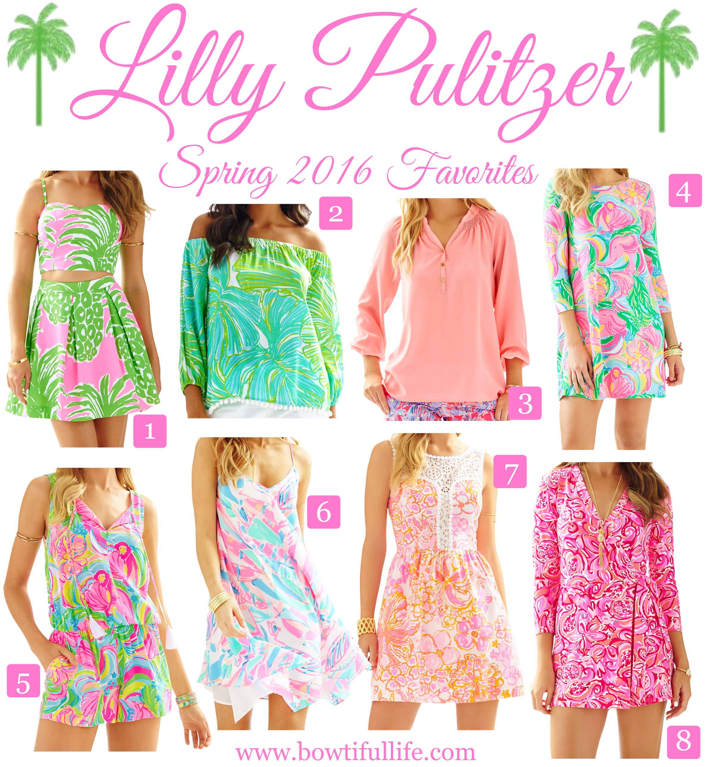 8 Must Haves from Lilly Pulitzer s Spring 16 Collection Bowtiful Life