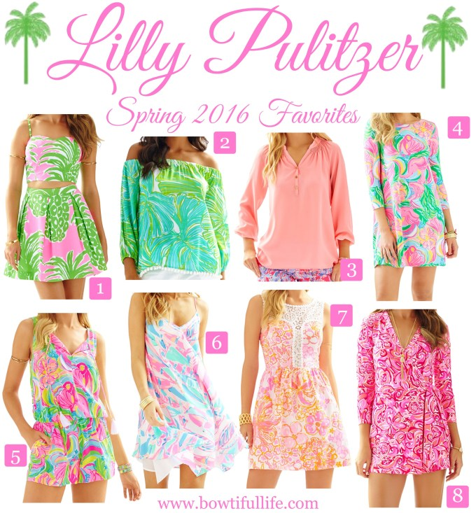 Bowtiful Life Lilly Pulitzer Spring Favorites 2016