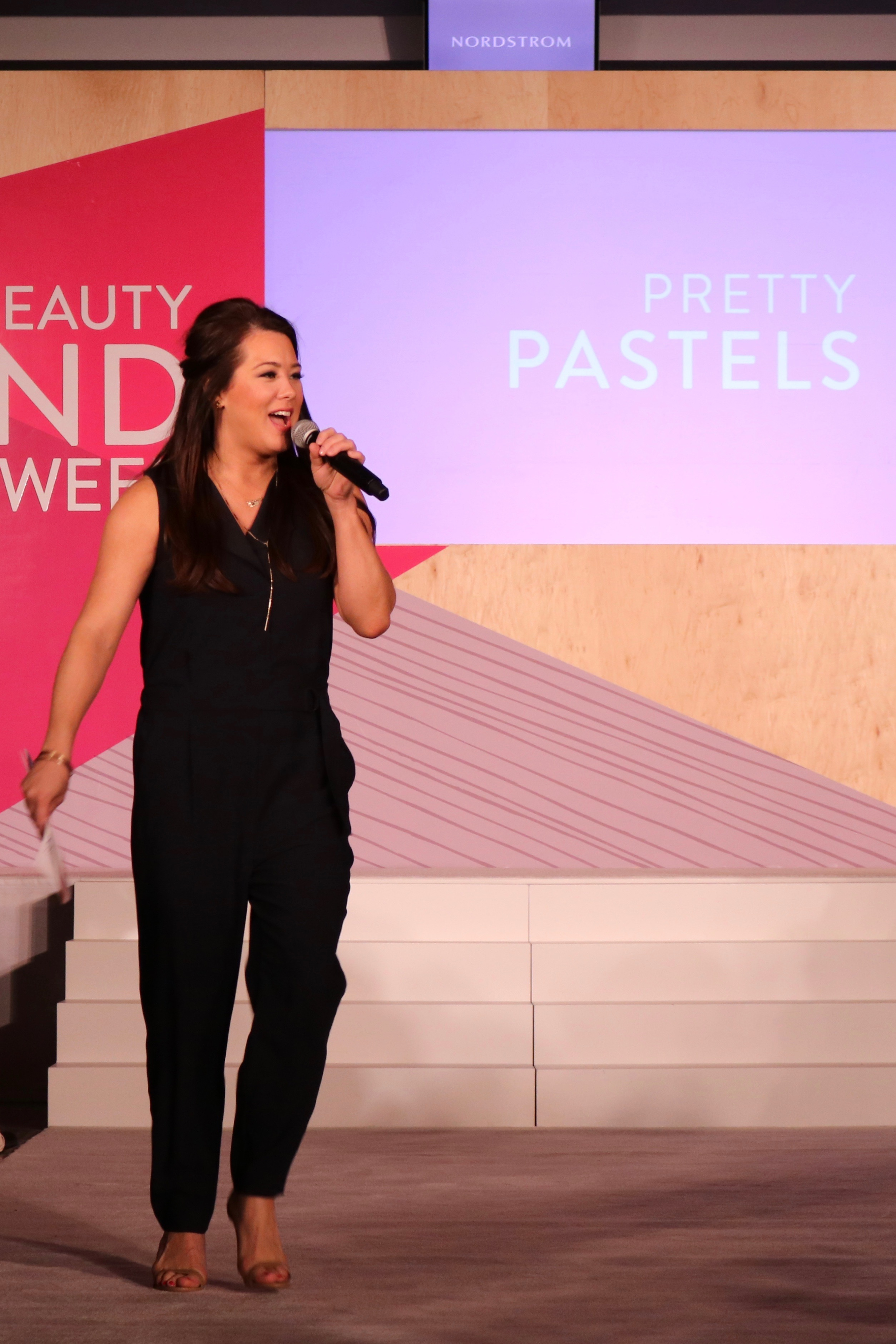 Kelly Edwards Regional Beauty Director for the Midwest Nordstrom Beauty Trend Show 2016 Spring Bowtiful Life 4