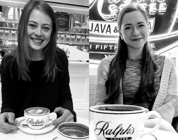 Bowtiful Life Hannah Rademaker Megan Rogers-Reilley Ralph's Coffe NYC